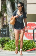 JORDANA BREWSTER in Shorts Out in Los Angeles 08/02/2016