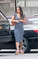JORDANA BREWSTER Out and About in Los Angeles 08/29/2016