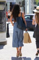 JORDANA BREWSTER Out for Shopping in Los Angeles 08/18/2016