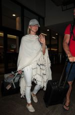 JULIANNE HOUGH at LAX Airport in Los Angeles 08/03/2016