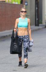 JULIANNE HOUGH Leaves a Gym in  Los Angeles 08/10/2016