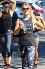 JULIANNE HOUGH Out Hiking in Studio City 08/13/2016