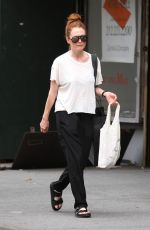 JULIANNE MOORE Out Shopping in New York 08/08/2016