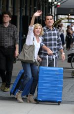 JULIE BOWEN on the Set of Modern Family in Los Angeles 08/25/2016