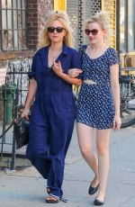 JUNO TEMPLE Out and About in New York 08/23/2016