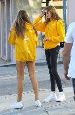 KAIA GERBER Out in Beverly Hills 08/18/2016