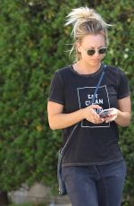 KALEY COUCO Out and  About in Los Angeles 08/16/2016
