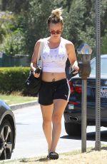 KALEY CUOCO Leaves Yoga Class in Sherman Oaks 08/15/2016