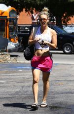 KALEY CUOCO Out and About in Sherman Oaks 08/15/2016