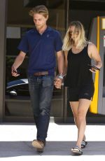KALEY CUOCO Out for Lunch in Los Angeles 08/15/2016