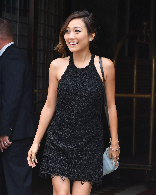 KAREN FUKUHARA Leaves Her Hotel in New York 07/30/2016