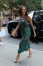 KAREN FUKUHARA Out and About in New York 07/29/2016
