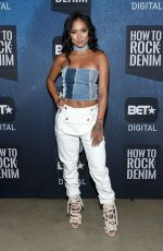 KARREUCHE TRAN at Bet How To Rock: Denim Party in New York 08/10/2016