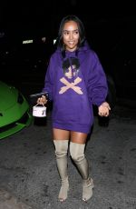 KARREUCHE TRAN at Nice Guy in West Hollywood 07/31/2016