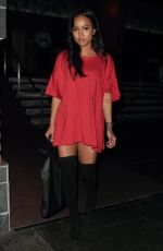 KARREUCHE TRAN Night Out in Hollywood 08/20/2016