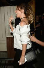 KATE BECKINSALE at Nice Guy in West Hollywood 08/20/2016