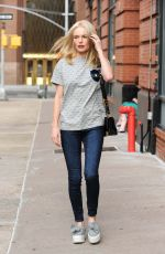 KATE BOSWORTH Out and About in New York 08/08/2016