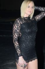 KATE ENGLAND Night Out in Los Angeles 08/17/2016