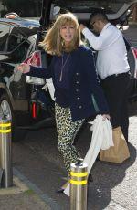 KATE GARRAWAY Leaves ITV Studios in London 08/09/2016