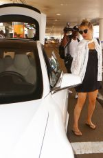 KATE HUDSON at LAX Airport in Los Angeles 08/20/2016