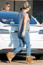 KATE HUDSON in Ripped Jeans Leaves Nobu in Malibu 08/21/2016