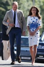 KATE MIDDLETON Out in Luton 08/24/2016