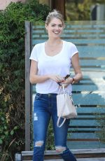 KATE UPTON Out for Lunch at Ollo in Malibu 08/09/2016