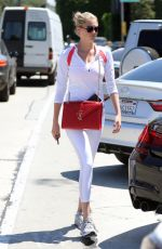 KATE UPTON Shopping at Mayfield in West Hollywood 08/19/2016