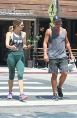 KATHARINE MCPHEE in Leggings Out in Los Angeles 08/20/2016