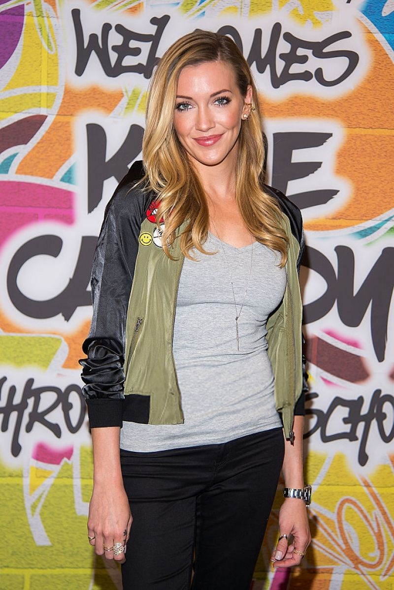 KATIE CASSIDY at Macy