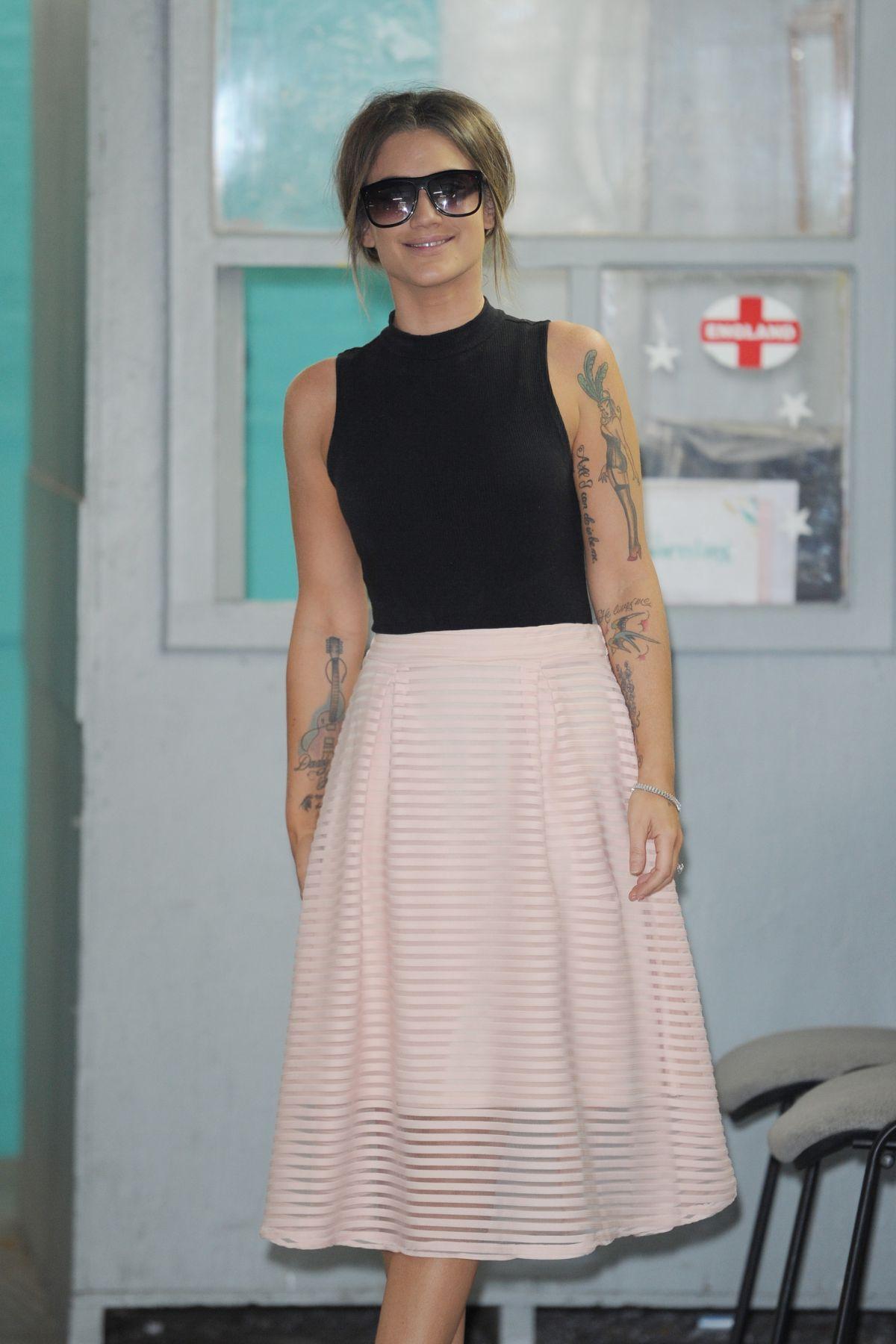 KATIE WAISSEL at ITV Studios in London 08/24/2016