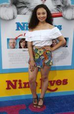 KAYLA MAISONET at 'Nine Lives' Premiere in Hollywood 08/01/2016