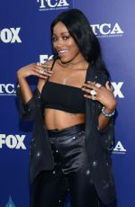 KEKE PALMER at Fox Summer TCA All-star Party in West Hollywood 08/08/2016