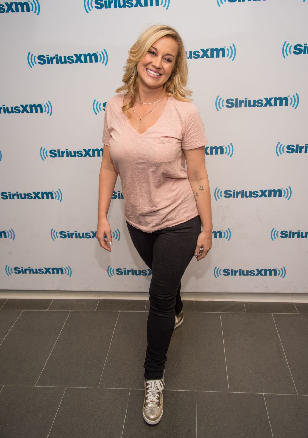 KELLIE PICKLER at SiriusXM Studios in New York 08/23/2016