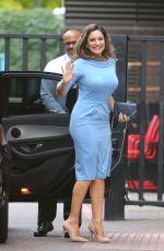 KELLY BROOK Arrives at ITV Studios in London 08/11/2016