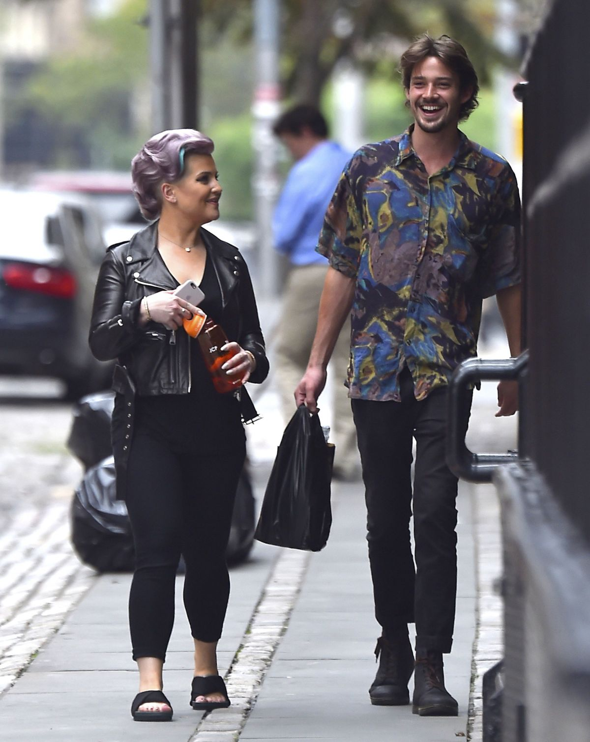 KELLY OSBOURNE Out and About in New York 08/01/2016