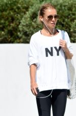 KELLY RIPA Out and About in West Hollywood 08/11/2016