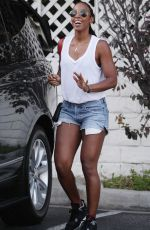 KELLY ROWLAND Out and About in Los Angeles 08/13/2016