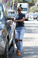 KELLY ROWLAND Out and About in West Hollywood 08/20/2016