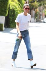 KENDALL JENNER at Fred Segal in West Hollywood 08/22/2016