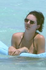KENDALL JENNER in Bikini at a Beach in Turks and Caicos 08/12/2016