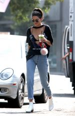 KENDALL JENNER Out and About in Beverly Hills 08/25/2016