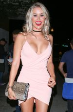 KENNEDY SUMMERS at Le Jardin in Hollywood 08/03/2016