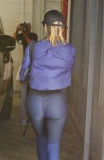KHLOE KARDASHIAN Leaves a Gym in Los Angeles 08/25/2016