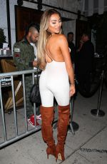 KHLOE TERAE at Le Jardin in Hollywood 08/03/2016