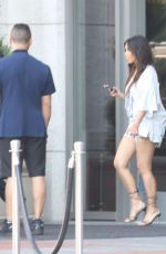 KIM KARDASHIAN Out and About in Beverly Hills 08/21/2016
