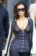 KIM KARDASHIAN Out and About in New York 08/30/2016