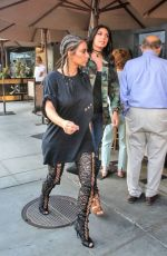 KIM KARDASHIAN Out for Lunch in Beverly Hills 08/04/2016