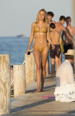 KIMBERLEY GARNER in Bikini in St. Tropez 08/10/2016