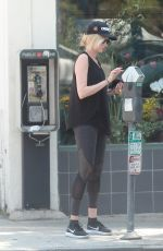 KIMBERLY STEWART Out Shopping in Los Angeles 08/06/2016